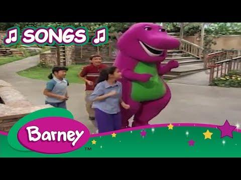Barney songs (1995) youtube.