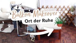 Balkon Makeover - Ohne SchnickSchnack: Weniger ist mehr! #nurwasichmag