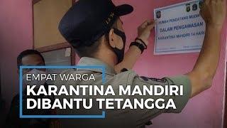 Selama Dikarantina, 4 Pemudik di Lenteng Agung, Jakarta Selatan Dapat Bantuan Makan dari Tetangga