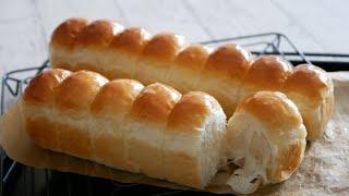 縦長整列ちぎりパン♪   Soft And Fluffy  Bread