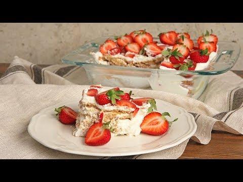 Strawberry Lemon Ice Box Cake | Ep. 1277