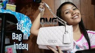 Unboxing ng Guess bag( Tips Sa pag bili)