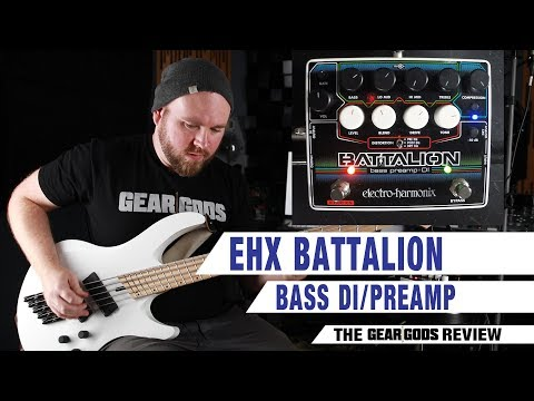 ELECTRO-HARMONIX Battalion Bass DI/Preamp – The Gear Gods Review