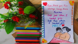 Happy  Mother's day greeting card ///mother's day Card