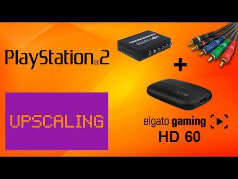 Upscaling (Upscaler) do Playstation 2 (1080p) + Elgato HD 60