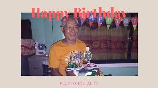 Happy birthday Tatay🎂 | simple celebration with family | PrettyCrystal TV