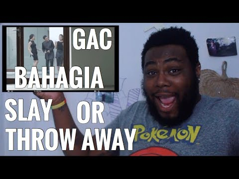 GAC (Gamaliél Audrey Cantika) - Bahagia (Official Music Video) | REACTION - ALL ABOUT JOEY SINGS