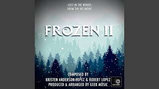 """Lost In The Woods (From"""" Frozen 2"""")"""