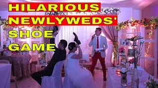 Hilarious Newlyweds Shoe Game of Mr. & Mrs. Carlo & Kay Menor