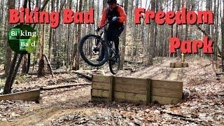 Biking Bad at Freedom Park loop C