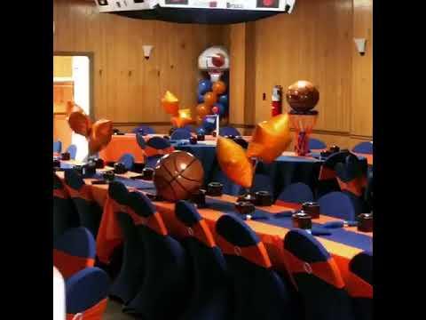 Basketball Themed Baby Shower