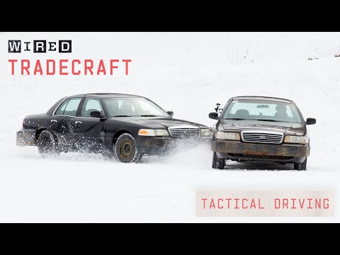 Pro Driver Shows Off Tactical Driving Techniques | Tradecraft | WIRED