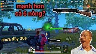 PUBG Mobile - Sức Mạnh Đáng Sợ Của Shotgun Khi Bắn Boss Tyrant | Bị Bầy Zombie Cực Đông Uy Hiếp
