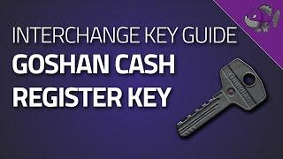 Key To Goshan Cash Register - Key Guide - Escape From Tarkov