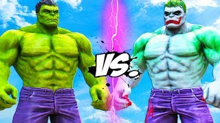 THE HULK VS HULK - JOKER