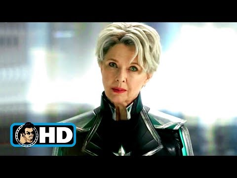 CAPTAIN MARVEL Clip - Carol Meets Supreme Intelligene Scene (2019) Marvel Superhero Movie HD