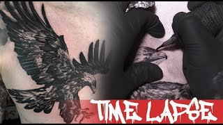The Eagle - Tattoo Time Lapse