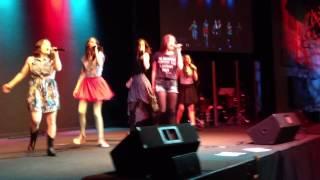 "Cimorelli ""Believe It"" live at Newbury Park"