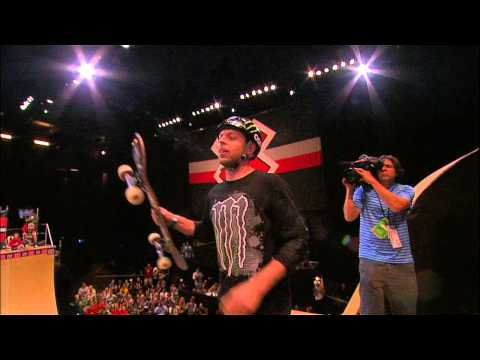 X Games - Pierre-Luc Gagnon nails nollie heelflip varial indy 540 to win Gold