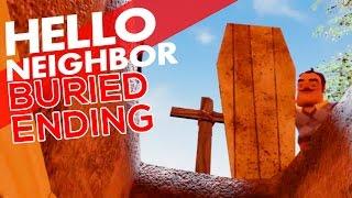 NEW BAD ENDING   The Secret Behind the Door   Hello Neighbor Reborn (Secret Door)