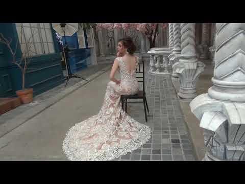Áo cưới đẹp Asoen Bridal - Váy cưới đuôi cá ấn tượng