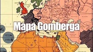 """Mapa Gomberga, czyli """"Zarys Powojennej Mapy Nowego Świata"""""""