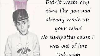 Justin Bieber Bad Day LYRICS