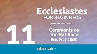 Comments on the Rat Race