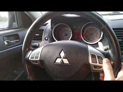 установка круиз-контроль на  Mitsubishi ASX,Lancer,Outlander