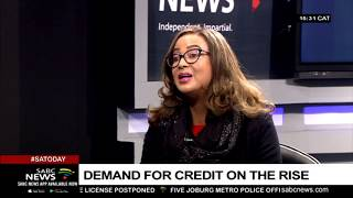 Demand for credit among SA consumers: Carmen Williams