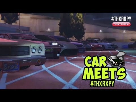 GTA 5 ONLINE - CAR MEET CRUISE ROUND LOS SANTOS WITH SOME AMAZING VIEWS [THXRXPY] (XB1) PART 1
