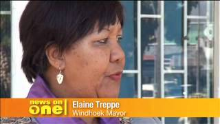 preview picture of video 'YOUTHinkGreen meets Major of Windhoek'