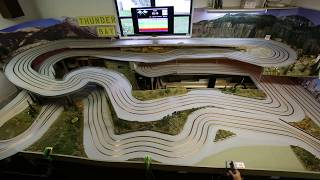 Thunder Bay Slot Car Track Build