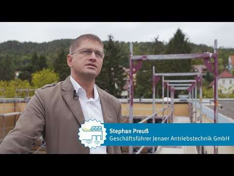 Thüringer EnergieEffizienzpreis 2019: CO2-neutraler Firmenkomplex der Jenaer Antriebstechnik