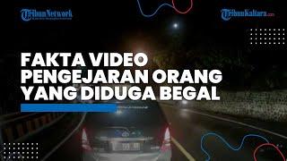 Viral Video Warga Kejar Begal di Cadas Pangeran Sumedang, Polisi Ungkap Fakta Sebenarnya