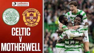 Celtic 4-1 Motherwell | Edouard Double as Hosts go Eight Points Clear | Ladbrokes Premiership