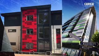 CAREA® - la façade minérale résistante et durable