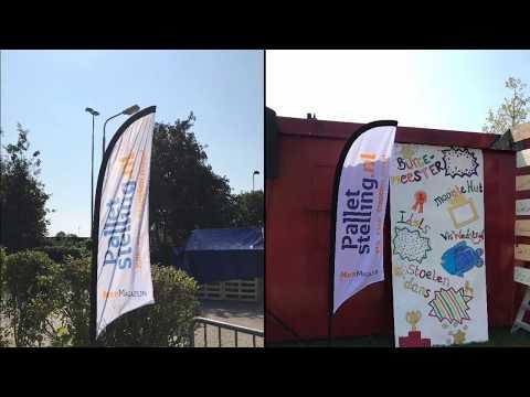 Palletstelling.nl sponsort de huttenbouw 2019