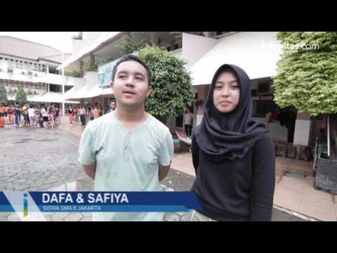 Bersih Lumpur Pasca Banjir SMAN 8 Jakarta
