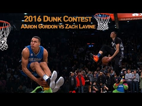 Zach LaVine And Aaron Gordons AWESOME 2016 Slam Dunk Duel Mp3