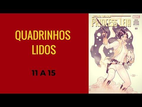 Quadrinhos Lidos 2017 - 11 a 15
