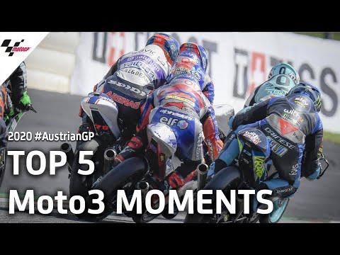 Moto3 オーストリアGP 決勝ハイライト動画