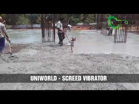 Screed Vibrator