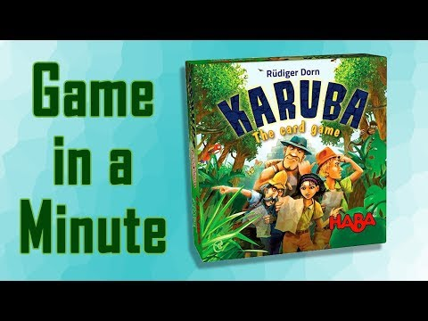 Game in a Minute: Karuba: The Card Game