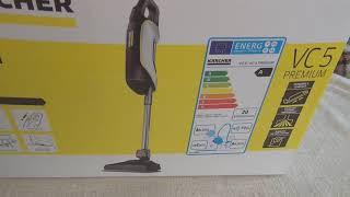 Functional testing  Kärcher  Vacuum cleaner   VC 5 Premium