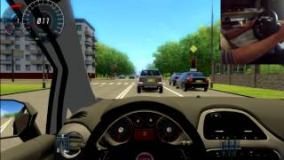 preview picture of video 'City Car Driving | Driving Force GT | Fiat Grande Punto'