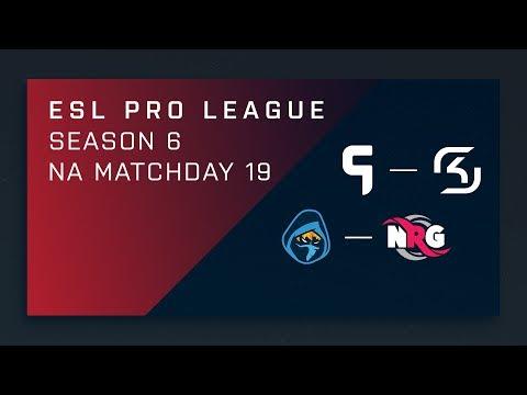 CS:GO: Ghost vs. SK   Rogue vs. NRG – Day 19 – ESL Pro League Season 6 – NA 2nd Stream