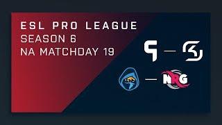 CS:GO: Ghost vs. SK | Rogue vs. NRG - Day 19 - ESL Pro League Season 6 - NA 2nd Stream