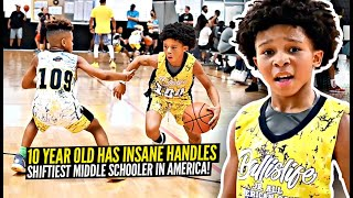 10 Year Old Has INSANE HANDLES! Will Conroy Jr Is SO Shifty Even Steph Curry Is Impressed!