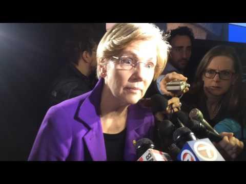 WATCH: Sen. Warren Defends John Lewis From Trump